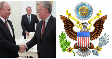 """Where is the Peace?…Putin asks USA National Security Chief:  """"Did the eagle already eat the Olives and only the arrows are left."""" Comments going viral..Video"""
