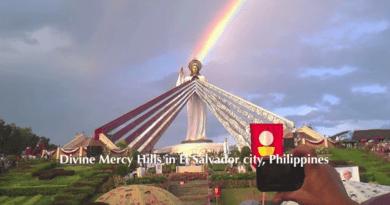 "Caught on Video: Incredible ""Sun Miracle"" in Philippines during Feast Day of the Divine Mercy Sunday."