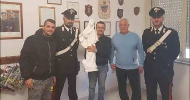 Statue of Our Lady of Medjugorje Stolen by Repentant Thieves is Back on Mountain in Sardinia… Two Mushroom Diggers Find Statue and Return to Police