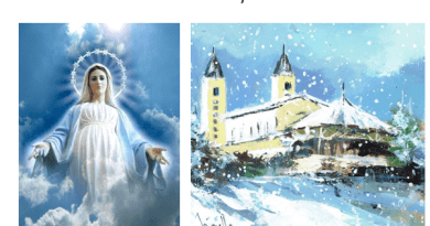 """Eternity and God's """"Immense Love""""  – Our Lady's Two Powerful Christmas Messages to Jakov and Marija. Read them side by side today and keep them close to you."""