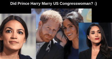 Has anybody noticed that Prince Harry's wife Meaghan Markle looks a lot like USCongresswomanAlexandria Ocasio-Cortez?