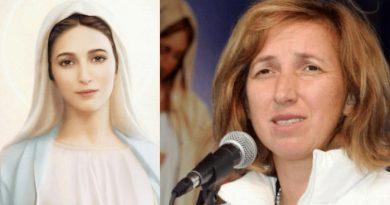 "Medjugorje:  Visionary Marija – ""The image of the  Flower appeared to me three times…I could not understand what this vision meant so I asked Our lady"""