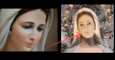 "Sr. Emmanuel Claim: Photo of Famous Medjugorje Statues Changes ""Mood"" After Incident."