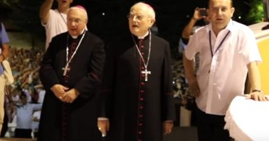 "Why we're Catholics – Young People Sing ""Ave Maria"" in Medjugorje…Beautiful…Vatican watches in awe"