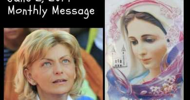"Medjugorje Message June 2, 2019 to Mirjana: ""True love conquered death… death does not exist…It is the way that leads to the triumph of my heart."""