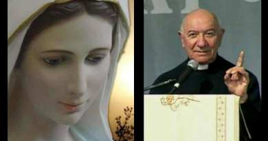 "Medjugorje: Fr.Don Renzo Lavatori comments on Our Lady's most recent message ""The world is at war because hearts are full of hatred and jealousy"" …But there is hope in Jesus ..How to live Christmas"