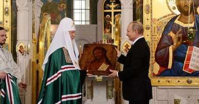 The Great Mystery – Christianity rising in Russia vs. Secular USA –