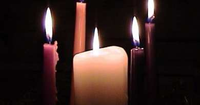"The meaning of the 5 candles of the Advent wreath …The second candle is the ""Bethlehem Candle"""