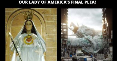 OUR LADY OF AMERICA'S FINAL PLEA FOR THE UNITED STATES!