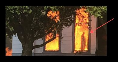Fire in Westphalia -Church of Visitation – See savage and disasterous photos