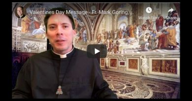 St. Valentine's Day and the Power and Mystery of Eucharistic Miracles.. Fr. Goring