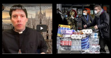 Alarm Bells: Coronavirus Spreading: GO TO CONFESSION!!! – Fr. Mark Goring  – Panic buying hits NYC –  Shoppers stock up on food and medical supplies
