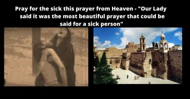 Coronavirus: Birth place of Jesus Quarentined -Bethlehem's Church of the Nativity ordered closed – Pray this prayer – Our Lady said it was the most beautiful prayer that could be said for a sick person