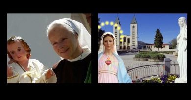 Powerful words from Sister Emmanuel from Medjugorje: Who launched the coronavirus? It's Satan! Who closed churches to the faithful? It's Satan!