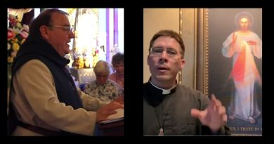 "Fr Goring Comments on Catholic Priest, Fr. Michel Rodrigue,  who claims to have Received Prophetic Knowledge of the Shocking Future of the world and church – Priest says a ""Warning' is coming"""