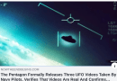 """They are real"" The Pentagon releases three unclassified UFO video taken by Navy pilots of ""unidentified aerial phenomena,"" Report: ""We have called this time the 'beginning of sorrows' from Matthew 24"""