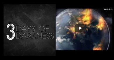 "On the Way? Powerful – THE THREE DAYS OF DARKNESS: WHAT WILL HAPPEN…""The wind will howl and roar"""