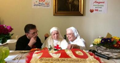 Sister Candida Bellotti, 110-year-old nun shares the secret to a long life.