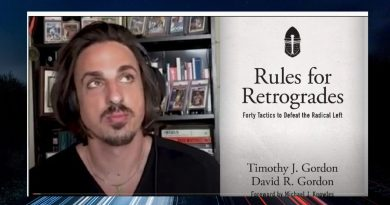 Rules for Retrogrades – Catholic Tim Gordon talks about how men of goodwill can win the culture war!