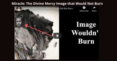 Amazing Miracle: The Divine Mercy Image that Wouldn't Burn