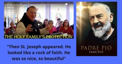 "Fr. Rodrigue: ""Padre Pio took me to heaven to see the Holy Family"" The incredible story"