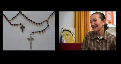 Did these two rosaries come from Heaven? Vicka thinks so because Our Lady told her. Here is the story