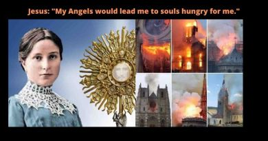 "Oh how he loves us – Jesus to Mystic Maria Valtorta: ""If the anger of Satan destroyed all the Churches, I would come down, in Eucharistic form , from heaven. My Angels would lead me to souls hungry for me."""