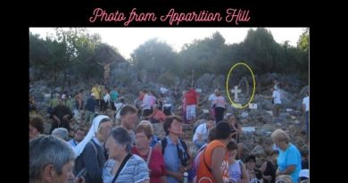 Photo taken on Apparition Hill – Medjugorje Pilgrim Claims authentic