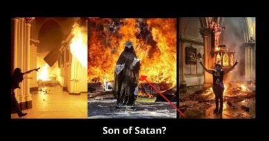 Demonic Attacks: Two Churches in Chile are burned – Extremists torch Catholic Church while onlookers cheer