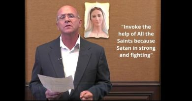 "All Saints Day : Medjugorje Message of October 25, 2020: ""Invoke the help of All the Saints because Satan in strong and fighting"" Dr. Miravalle shares powerful insights on Our Lady's most recent message"