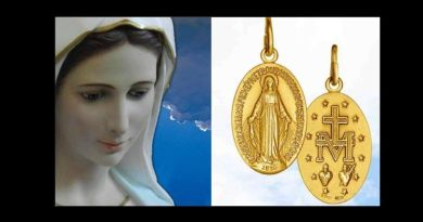 "Medjugorje and the Miraculous Medal   ""This medal should be worn as a means of protection against the devil's snares."""