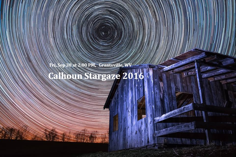 Calhoun Stargaze 2016 in Calhoun Co West Virginia. Image by Jessie Thornton