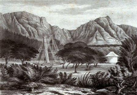 Herschel's Telescope at the Cape of Good Hope