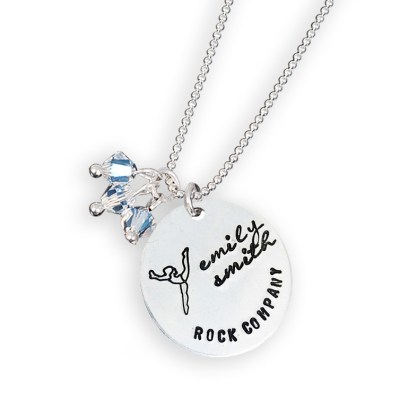 Personalized Dance Team Competition Necklace
