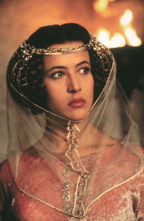 Sophie Marceau au Moyen Âge
