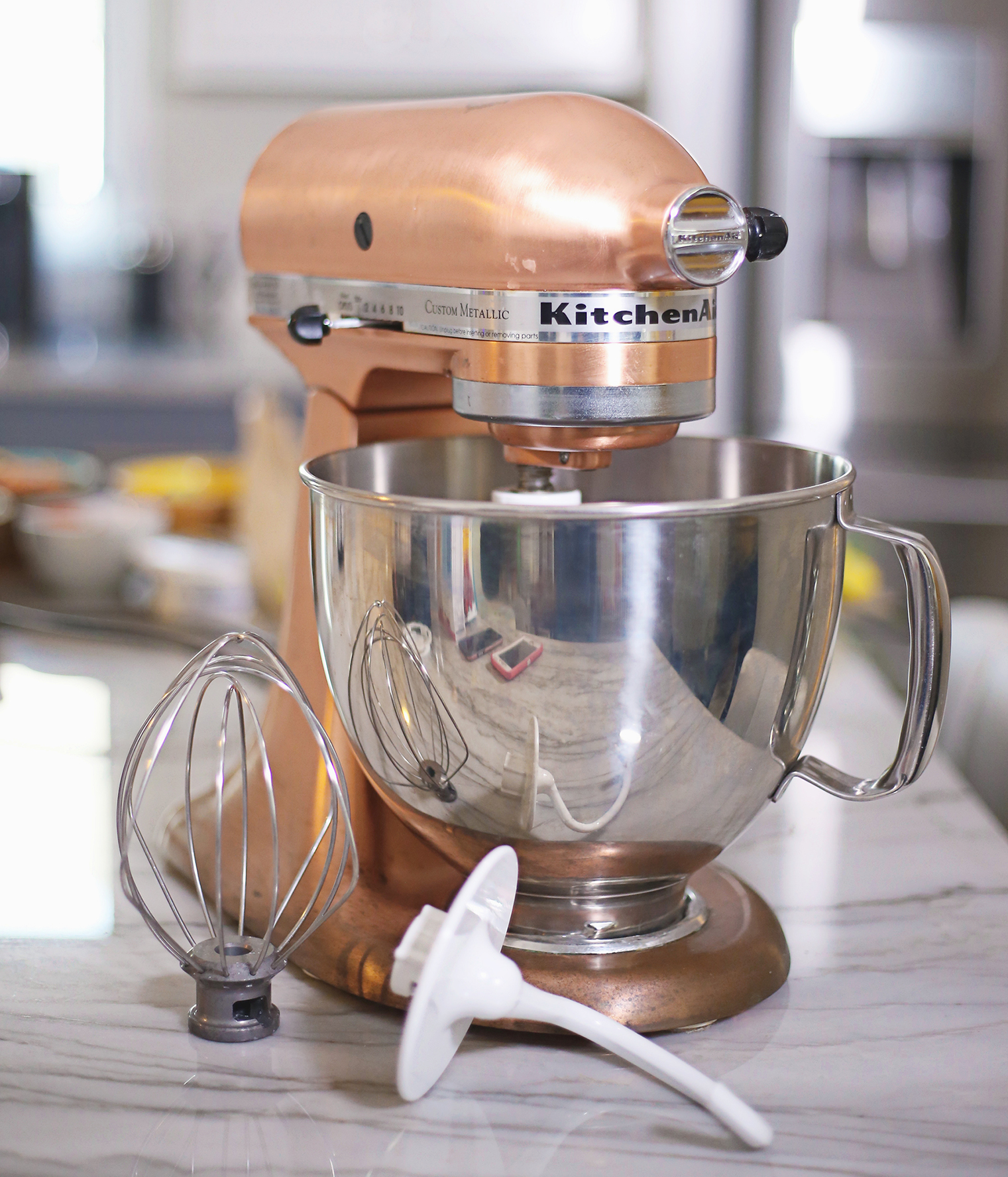 copper kitchen aid mixer las vegas strip hotels with pearl my stir crazy