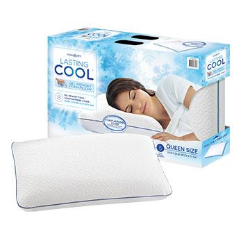 costco deal novaform lasting cool memory foam pillow 8 off