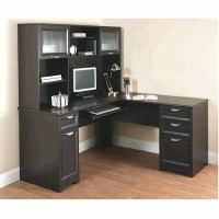 OfficeMax Deal - Realspace Magellan L Desk and Hutch ...