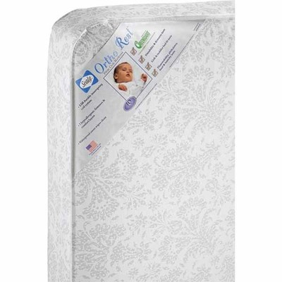 Sealy Ortho Rest CribToddler Bed Mattress Comfortable Sleep for Your Infant or Young Child
