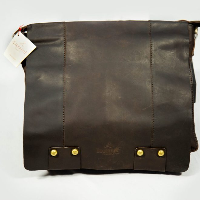 Lagerhof brown leather Messenger bag
