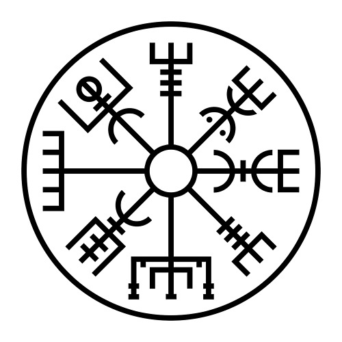 Simbología Vikinga Ii El Vegvísir The Valkyries Vigil