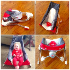 Tiny Love Bouncer Chair Lowes Cushions Traveling Baby Take Along My Strange