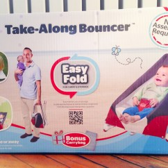 Tiny Love Bouncer Chair Round Outdoor Traveling Baby Take Along My Strange Family Travel