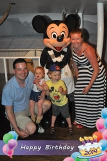 Baby Birthday Disneyland Strange Family