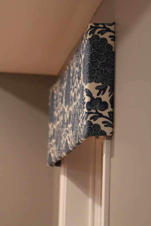 Rug Fail and Fix and Pelmet Boxes
