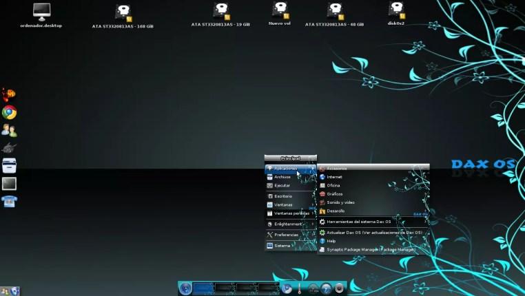 Daxos distributie bazata pe Ubuntu