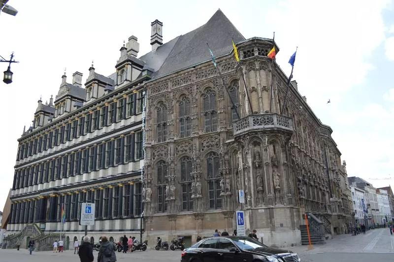 Primăria orașului Gent.