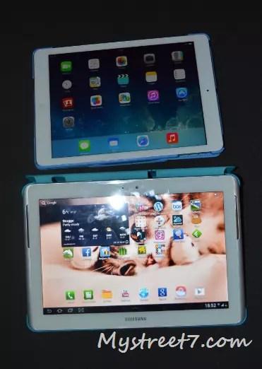 ipad air vs tab 2 pic 1