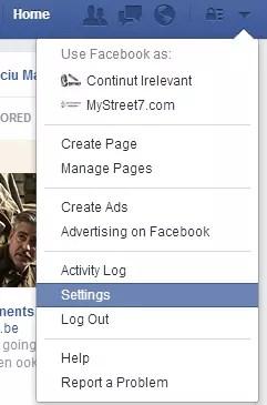 dezactivare redare video automata facebook 1