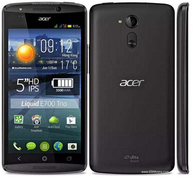 Acer Liquid E700 TRIO gsmarena